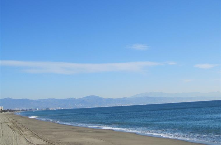 Torremolinos Beach in February