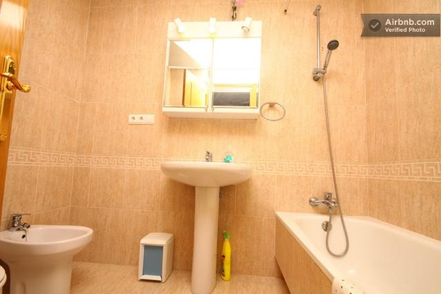 One of the 3 bathrooms