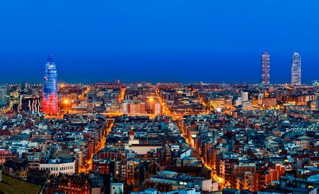 Barcelona is only 15 km. away or 30 min. by bus