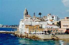 Sitges is at a 10 min. drive or 20 min. by train