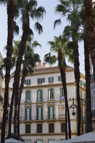 Malaga city center