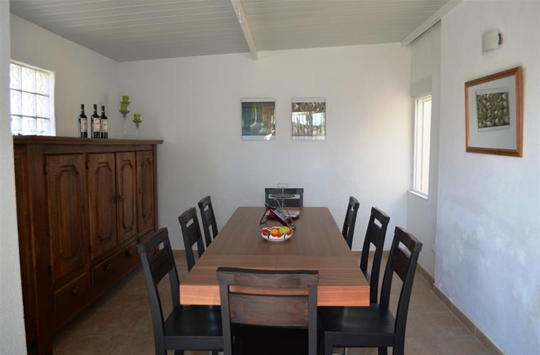 Dining room. Sits 6 to 10 persons.