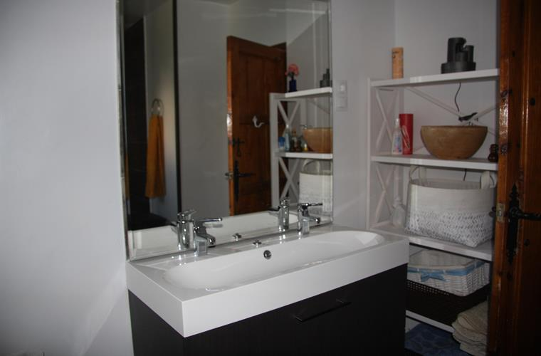 Upstairs remodeled bathroom 1 of 3