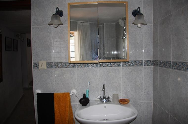 Bathroom A 1/2 Located in the ground floor, it is a three pieces..