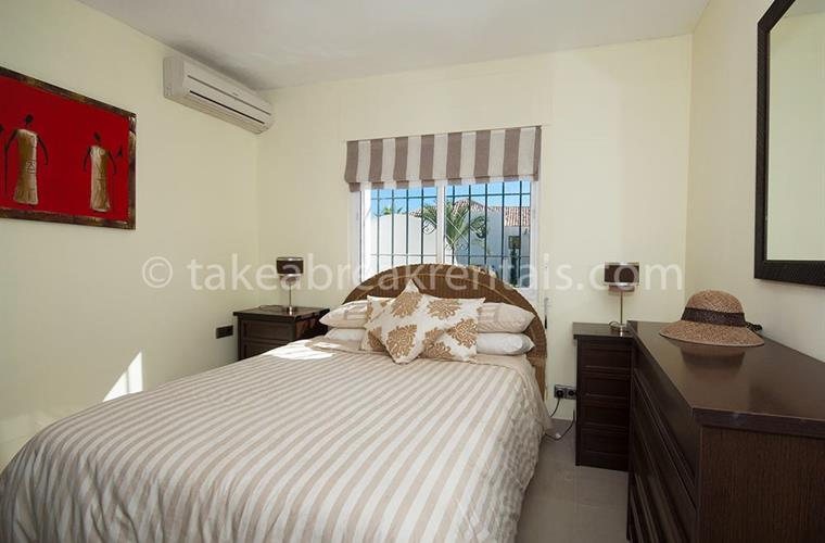 Bedroom Nueva Andalucia apartment rentals Spain