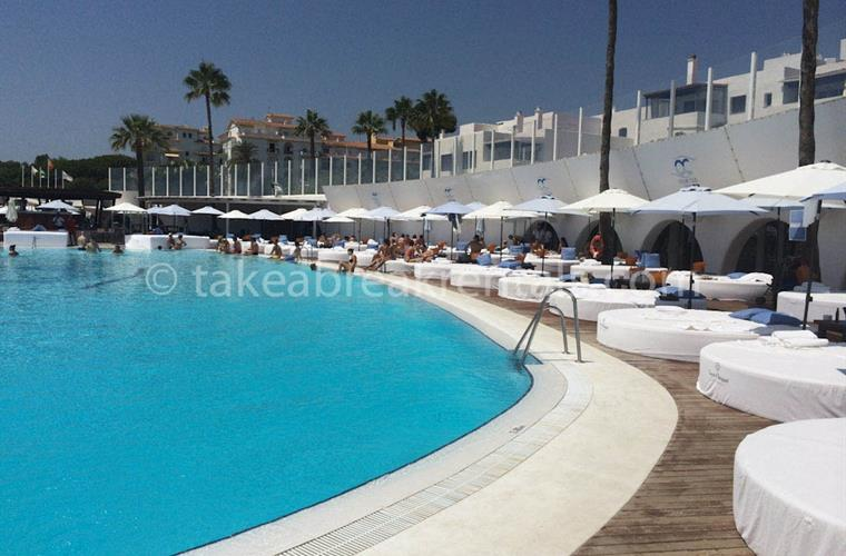 Ocean Club pool exclusive beach club Puerto Banus