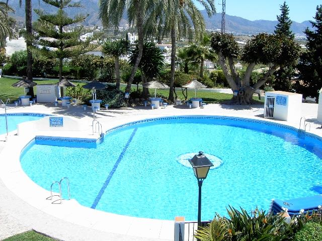 Communal Pool, adult and Childrens grassed area