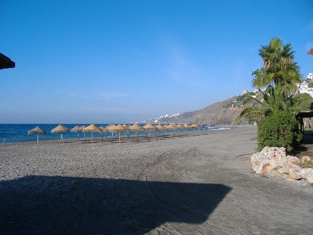 Playazo beach, opposite Punta Lara