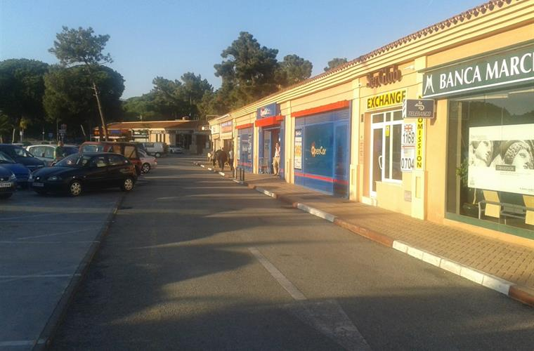 shops in Elviria, 300 metres from apartment