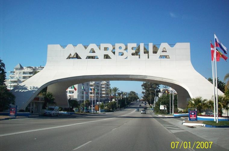 Main road Marbella