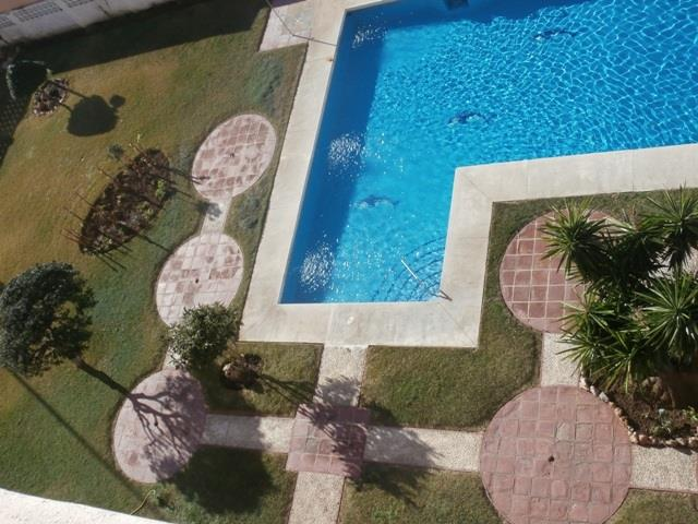 view of pool from the terrace