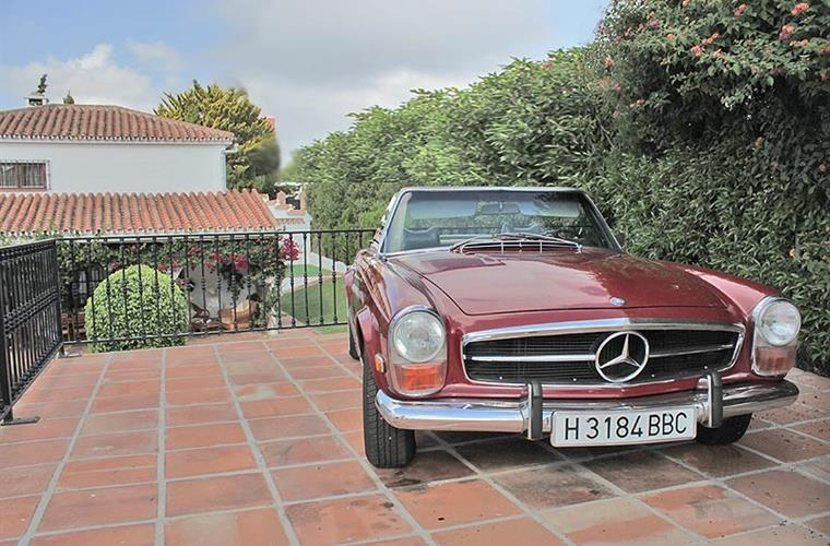 Private Mercedes 280 SL - modell 1970