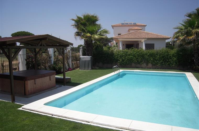 Garden and Privat Pool