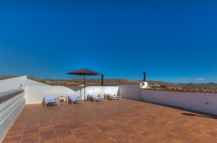Roofterrace Villa Damara