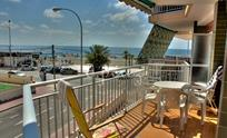Enjoy the large terrace with fantastic views of the beach