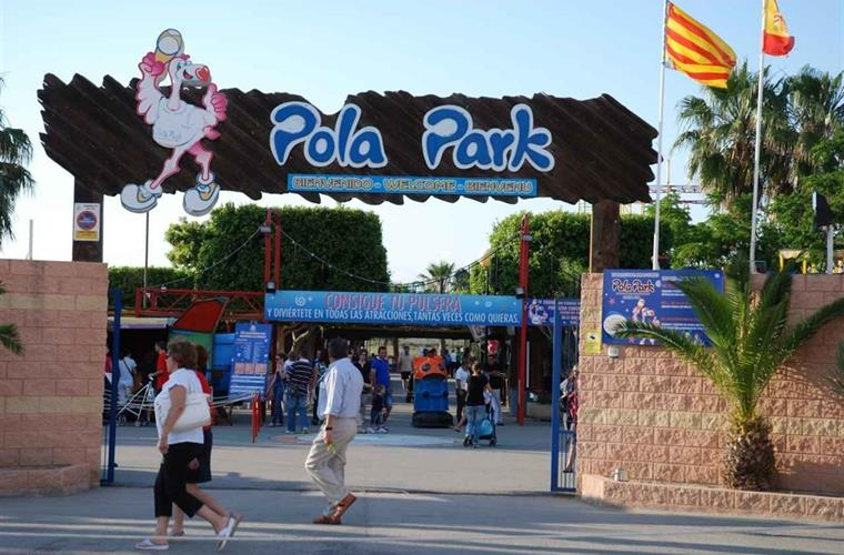 "Great evenings with the kids in the amusement park ""Pola Park"""