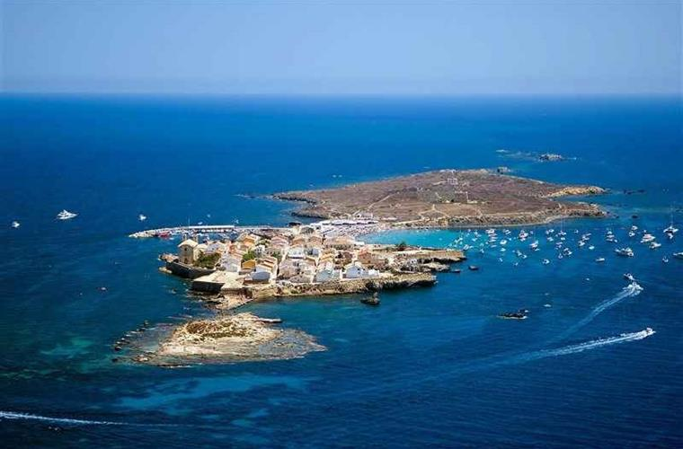 Spend the day in the crystal waters of the island of Tabarca