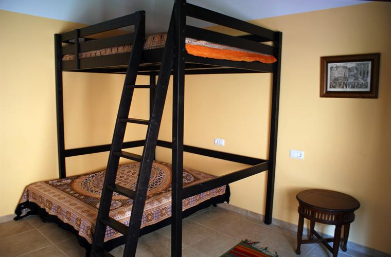 Fourth bedroom with bunk bed and additional sofa bed