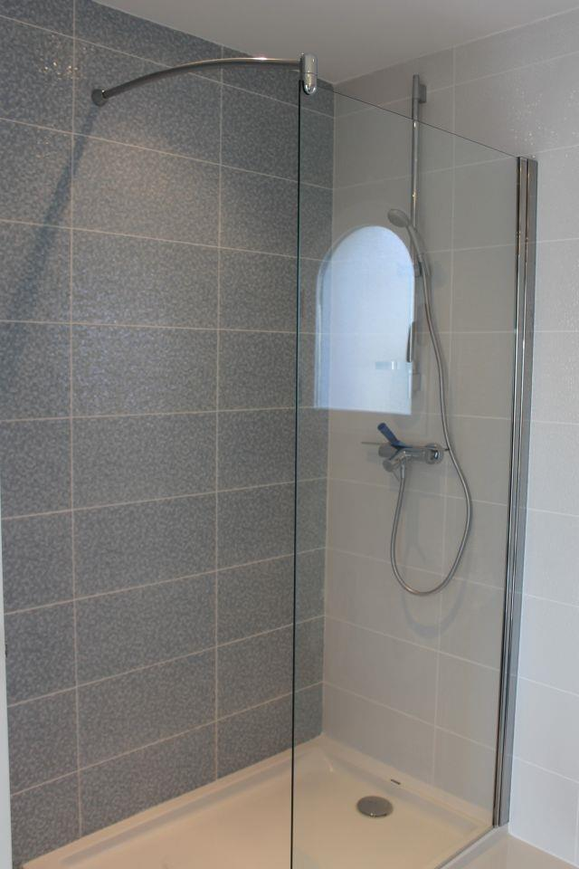 Bathroom with shower ground floor