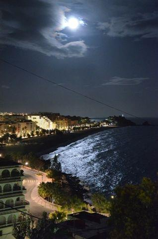 Night view from the terrace