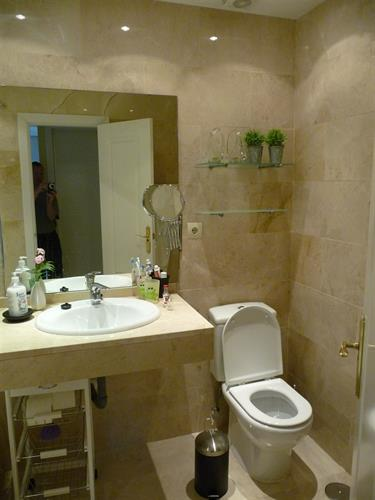 right view of toilet one