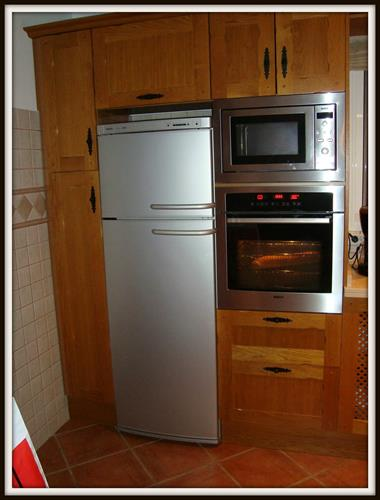 Fridge/freezer-microwave-multifunctional oven