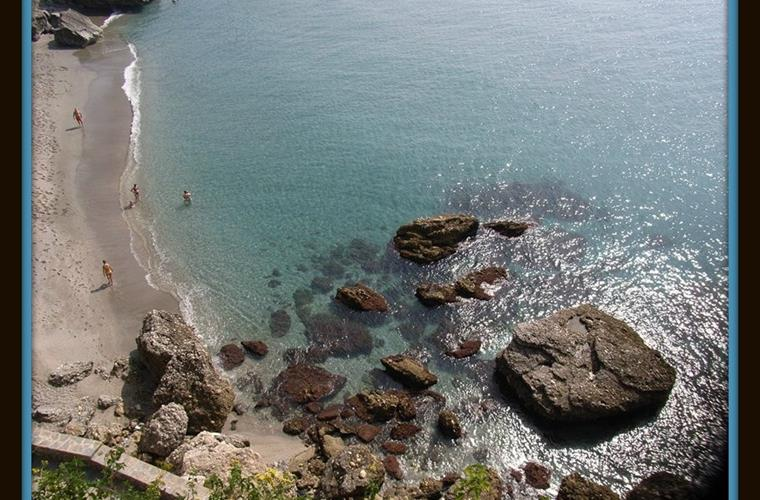 Coast at Nerja