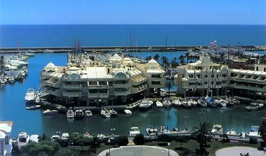 Harbour in Benalmadena