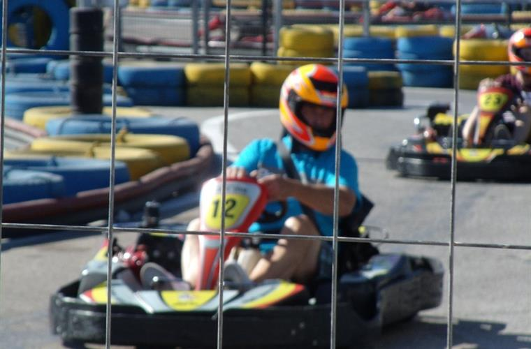 Go karting at Playa Flamenca