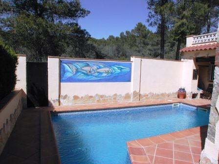 Heated Private Pool with sun terrace