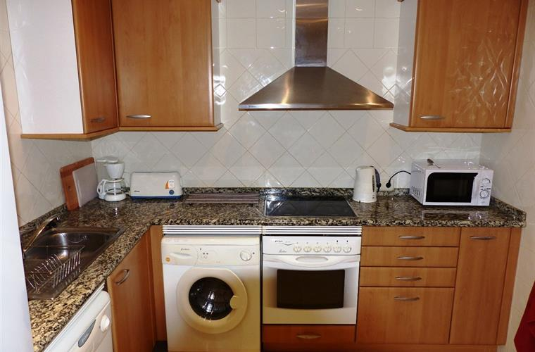 Fully equipped kitchen with all modern appliances