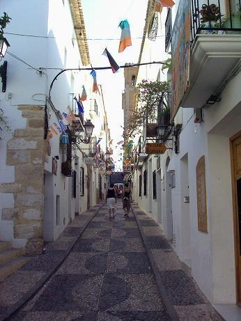 Altea original main street