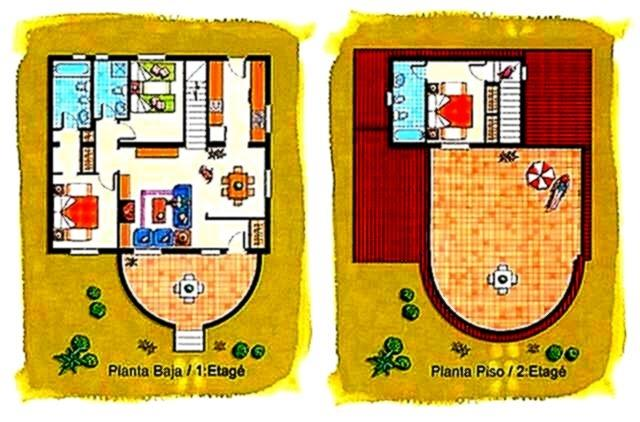 Plan of Villa