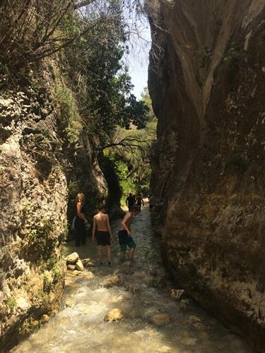 A hot day? Stroll up the cooling Rio Chillar north of Nerja.