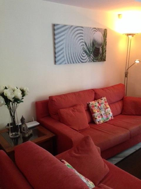 a refreshed living room