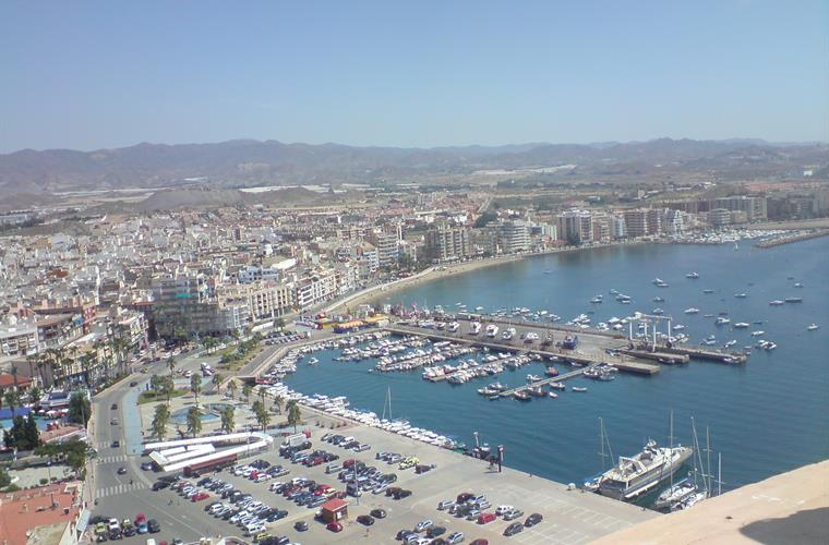 Aguilas harbour