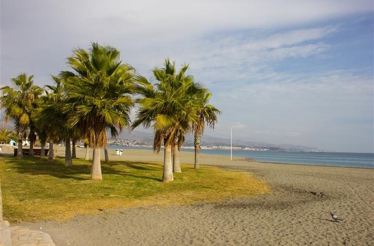 Beach in Torre Del Mar - 15 minutes from the house