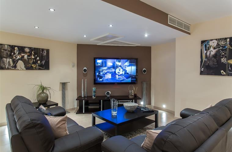State of the art TV and surround-sound systems
