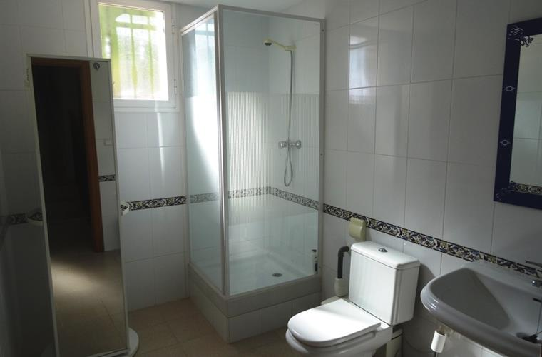 Bathroom 3 with shower cubicle, wash basin and wc