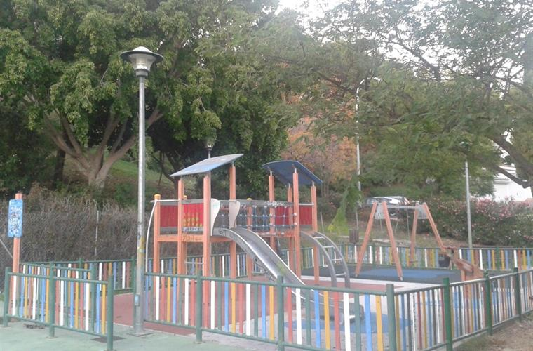 Playground area in housing state