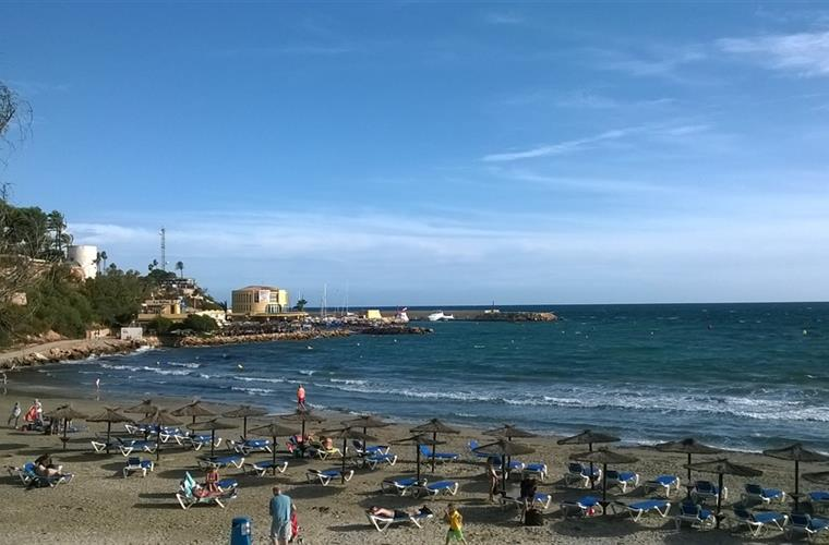 Beach from Cabo Roig