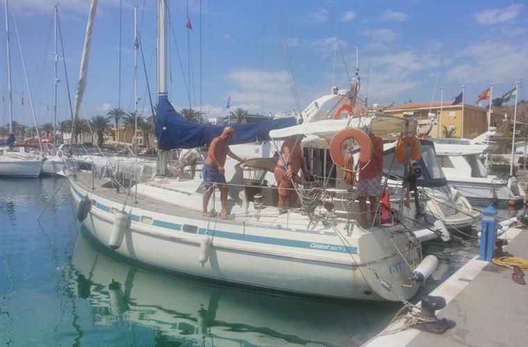 Enjoy a day out sailing from Caleta de Velez