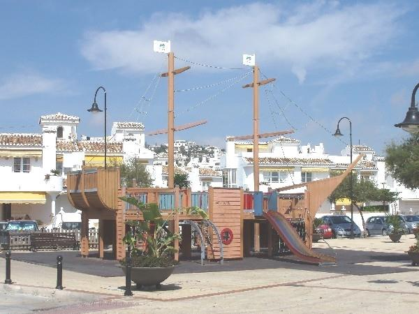 Playground in La Cala