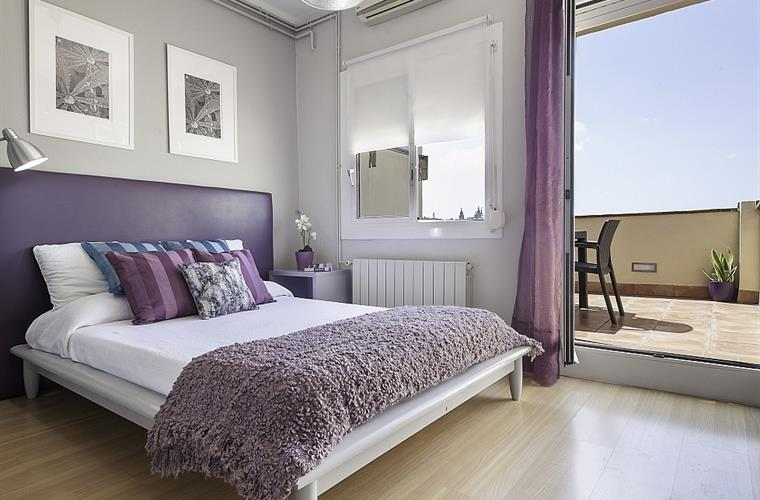 All the bedrooms come with beautiful wooden floors and windows.
