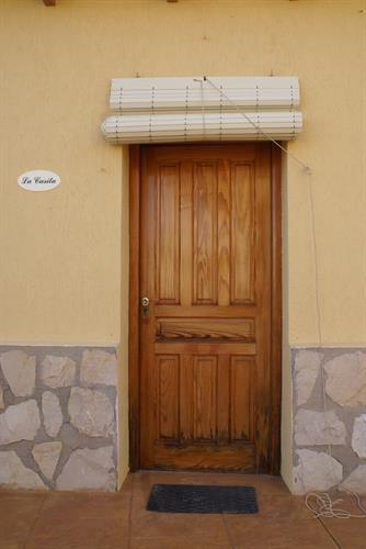 Entrance to La Caista