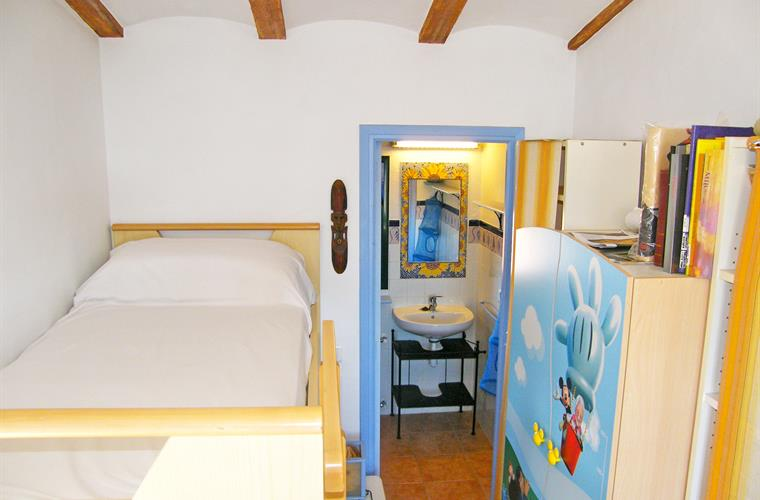 Bedroom 2 with bunk beds and bathroom ensuite