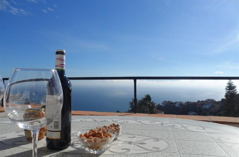 Vino with a view