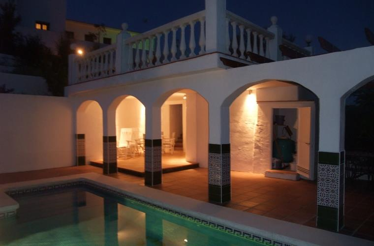 Pool and Terrace - evening