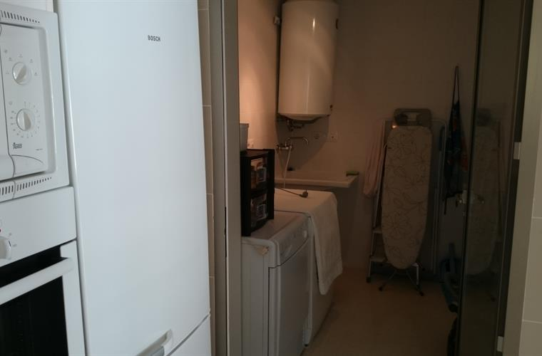 laundry room with washing machine and drying machine