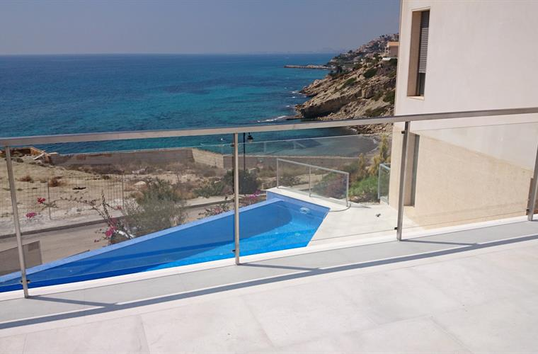 infinity pool terrace and the sea : the perfect combination